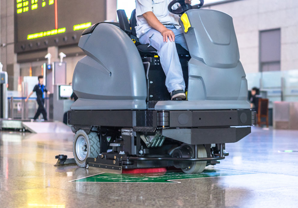 Floor scrubber applications