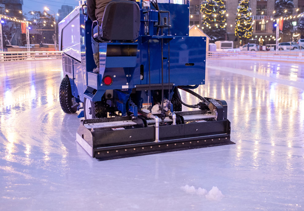 Stanbury Ice resurfacing applications